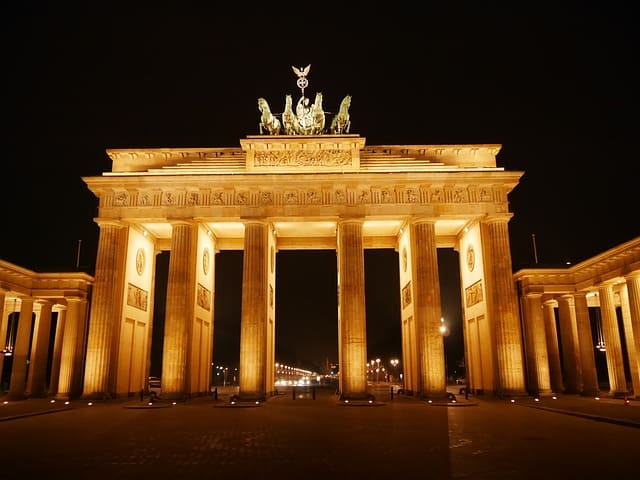 Berlin Sehenswürdigkeiten - Brandenburger Tor