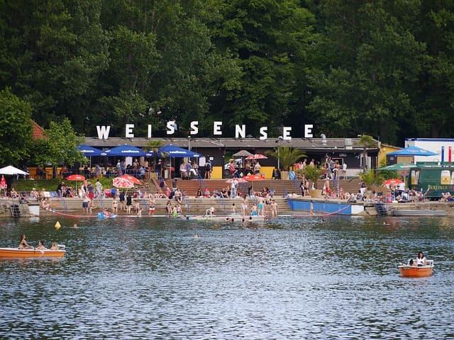 Berlin Weissensee Weißer See
